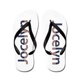 Jocelyn Stars and Stripes Flip Flops