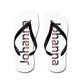 Johanna Stars and Stripes Flip Flops