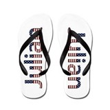 Julian Stars and Stripes Flip Flops