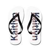 Kaitlyn Stars and Stripes Flip Flops