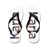 Karla Stars and Stripes Flip Flops