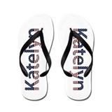 Katelyn Stars and Stripes Flip Flops