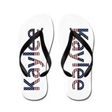 Kaylee Stars and Stripes Flip Flops