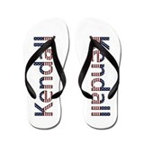 Kendall Stars and Stripes Flip Flops