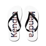 Kendra Stars and Stripes Flip Flops