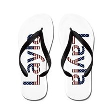 Layla Stars and Stripes Flip Flops