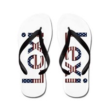 Lexi Stars and Stripes Flip Flops