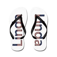 Linda Stars and Stripes Flip Flops