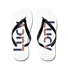 Lucy Stars and Stripes Flip Flops