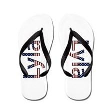 Lyla Stars and Stripes Flip Flops