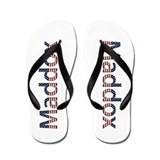 Maddox Stars and Stripes Flip Flops