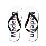Madelyn Stars and Stripes Flip Flops