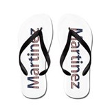 Martinez Stars and Stripes Flip Flops