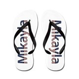 Mikayla Stars and Stripes Flip Flops