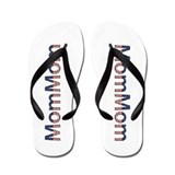 MomMom Stars and Stripes Flip Flops