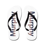 Murphy Stars and Stripes Flip Flops