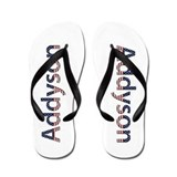 Addyson Stars and Stripes Flip Flops
