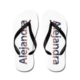 Alejandra Stars and Stripes Flip Flops