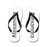 Alexandra Stars and Stripes Flip Flops