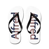 Alfred Stars and Stripes Flip Flops