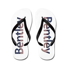 Bentley Stars and Stripes Flip Flops