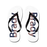 Brady Stars and Stripes Flip Flops