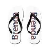 Brenda Stars and Stripes Flip Flops