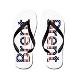 Brent Stars and Stripes Flip Flops