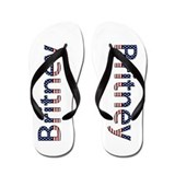 Britney Stars and Stripes Flip Flops