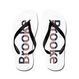 Brooke Stars and Stripes Flip Flops