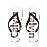 Calvin Stars and Stripes Flip Flops
