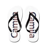 Camila Stars and Stripes Flip Flops