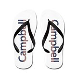 Campbell Stars and Stripes Flip Flops