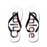 Chloe Stars and Stripes Flip Flops