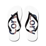 Cory Stars and Stripes Flip Flops