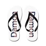 Damon Stars and Stripes Flip Flops