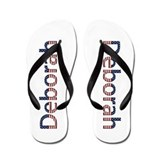 Deborah Stars and Stripes Flip Flops