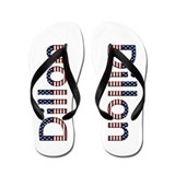 Dillon Stars and Stripes Flip Flops