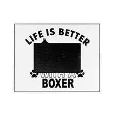 Boxer vector designs Picture Frame