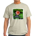 Water Lily Ash Grey T-Shirt