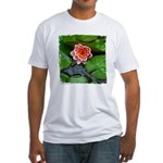 Water Lily Fitted T-Shirt