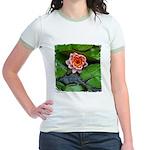 Water Lily Jr. Ringer T-Shirt