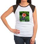 Water Lily Women's Cap Sleeve T-Shirt