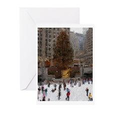 New York Art Christmas Cards (Pack of 6)