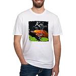 Orange Koi Fitted T-Shirt