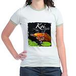 Orange Koi Jr. Ringer T-Shirt