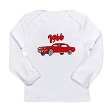 1966 Mustang Long Sleeve T-Shirt