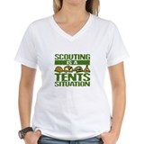 SCOUTING - TENTS Ash Grey T-Shirt