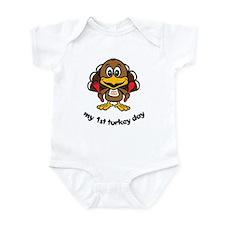 My First Turkey Day Infant Bodysuit