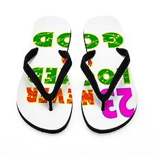 23 Birthday Designs Flip Flops